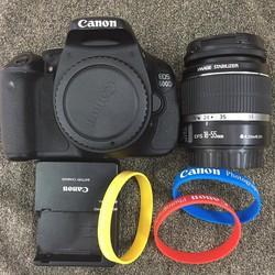 Máy ảnh Canon 600D kèm kít 18-55 , mới chụp 10k shot