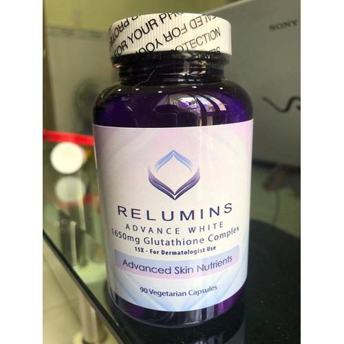 Viên thuốc uống trắng da relumins advance white 1650mg của mỹ - 12597545 , 20434910 , 15_20434910 , 920000 , Vien-thuoc-uong-trang-da-relumins-advance-white-1650mg-cua-my-15_20434910 , sendo.vn , Viên thuốc uống trắng da relumins advance white 1650mg của mỹ