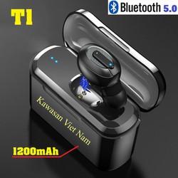 Tai nghe T1 bluetooth 5.0 - Kết nối cùng lúc 2 điện thoại