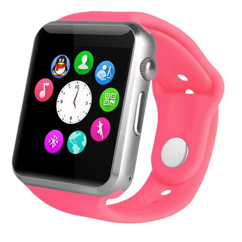 Đồng hồ thông minh a1 màu hồng