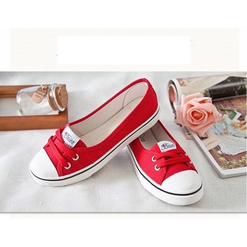 Giày lười nữ - Giày mọi vải nữ