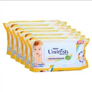 combo 6 gói khăn ướt unifresh - P01 thumbnail