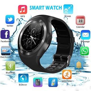Đồng hồ thông minh Smart Watch Y1 Cao cấp có Tiếng Việt - Nghe gọi 2 chiều, nghe nhạc, theo dõi sức khỏe, Đồng hồ thông minh trẻ em, Đồng hồ thông minh giá rẻ - y1 2