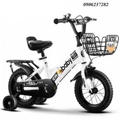Xe đạp trẻ em BABY xếp gọn 2-6 tuổi -xe đạp xếp gọn- xe 4 bánh cho bé- RE0511