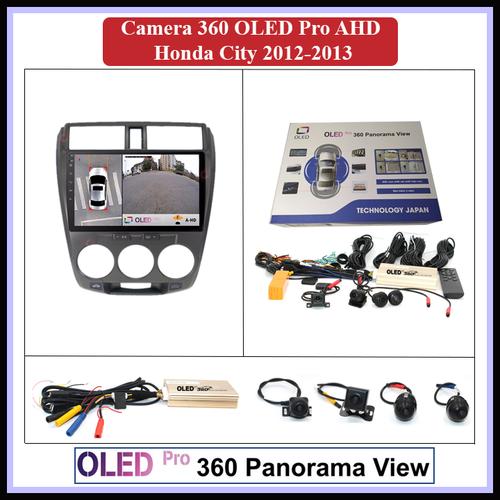 Camera 360 oled pro ahd cho xe honda city 2012-2013