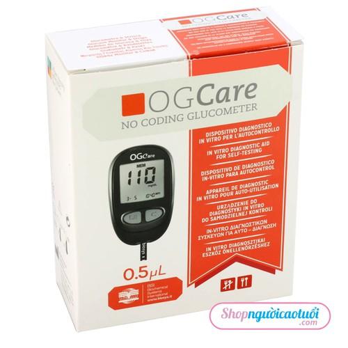 Máy đo đường huyết ogcare - bsi - 12607922 , 20448335 , 15_20448335 , 1250000 , May-do-duong-huyet-ogcare-bsi-15_20448335 , sendo.vn , Máy đo đường huyết ogcare - bsi