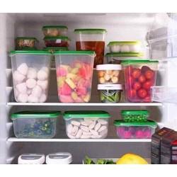 Bộ hộp đựng thực phẩm 17 món kích thước khác nhau