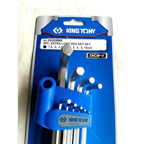 Bộ chìa lục giác 9 cái hệ mét Kingtony 20209MR - 12935727 , 20917360 , 15_20917360 , 165000 , Bo-chia-luc-giac-9-cai-he-met-Kingtony-20209MR-15_20917360 , sendo.vn , Bộ chìa lục giác 9 cái hệ mét Kingtony 20209MR