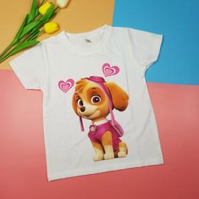 Áo chó cứu hộ hồng bé gái - MM059-CH
