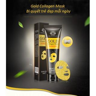 Mặt nạ thải độc Gold Collagen Mask mặt nạ thải độc than hoạt tính mặt nạ thải độc da Images KR-MA77 - KR-MA77 thumbnail
