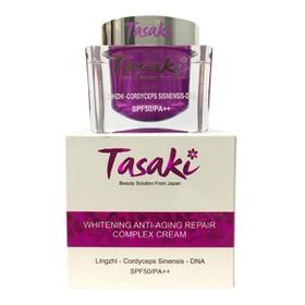 Kem Tasaki dưỡng trắng da cao cấp Linh chi, Đông trùng hạ thảo, DNA - 25g - hồng  - kem-tasaki-hong-1