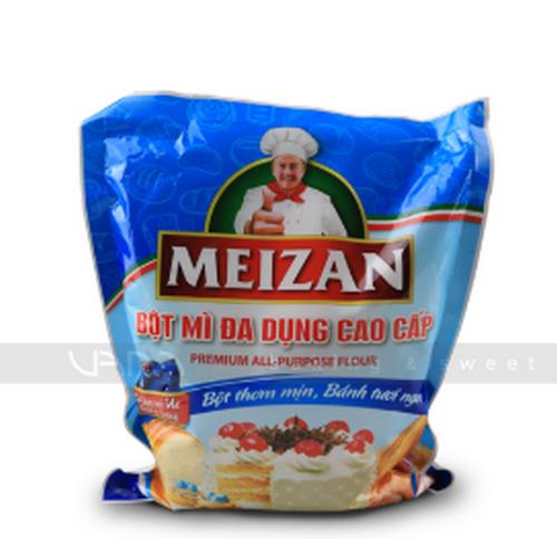 1kg bột mì đa dụng meizan - dùng làm các loại bánh và làm bột tẩm chiên gà tôm cá