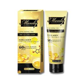 Kem dưỡng tóc phủ lụa Collagen Monly giúp tóc mềm mượt, dưỡng tóc - ML-KDTlua