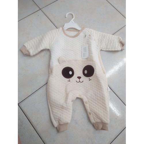 Body trần bông cotton hữu cơ cho bé 0-24m