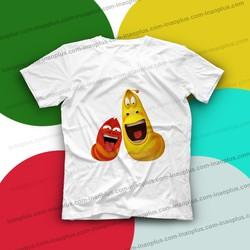 in áo hình Larva