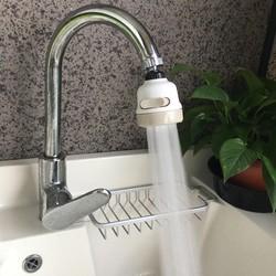 Đầu Vòi nước tăng áp bồn rửa bát 3 chế độ - vòi rửa tăng áp xoay 360