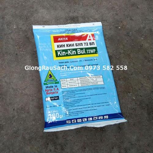 Thuốc Trị Bệnh Nấm Cây Trồng Kin Kin Bul 72WP 100gr - 45gr