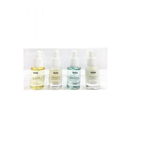 Bộ 4 Tinh Chất Dưỡng Huxley Essence Deluxe Complete