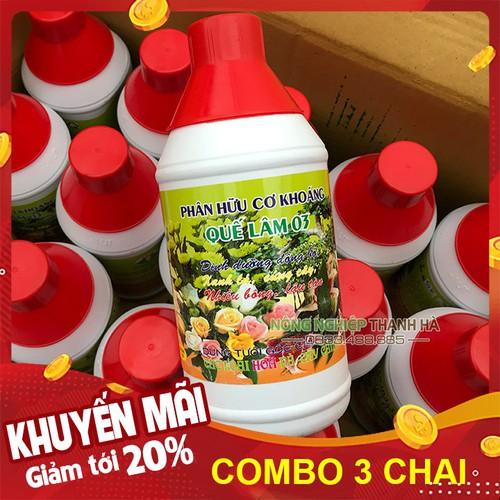 Bộ 3 chai - Dinh dưỡng hữu cơ dưỡng cây đồng bộ Quế Lâm - Chai 1 lít - 12919730 , 20895763 , 15_20895763 , 78000 , Bo-3-chai-Dinh-duong-huu-co-duong-cay-dong-bo-Que-Lam-Chai-1-lit-15_20895763 , sendo.vn , Bộ 3 chai - Dinh dưỡng hữu cơ dưỡng cây đồng bộ Quế Lâm - Chai 1 lít