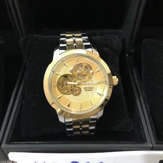[Siêu Sale] Đồng hồ nam BYINO 8082 automatic mặt kính tráng sapphire, dây đúc đặc cao cấp, máy lộ cơ tinh xảo, tặng vòng đá thạch anh [ĐƯỢC KIỂM HÀNG] 20945320 - 20945320 thumbnail