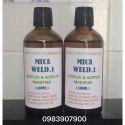 Keo Dán Mica Acrylic Weld.1 Trong Suốt 100ml