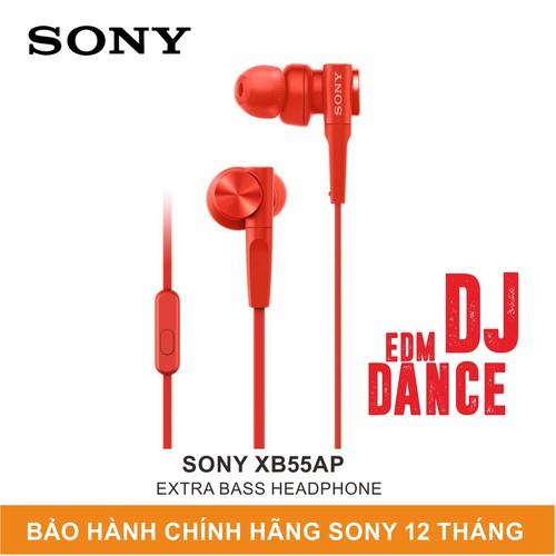 Tai nghe sony in-ear extra bass mdr-xb55ap màu đỏ - hãng phân phối chính thức - 12897202 , 20941723 , 15_20941723 , 890000 , Tai-nghe-sony-in-ear-extra-bass-mdr-xb55ap-mau-do-hang-phan-phoi-chinh-thuc-15_20941723 , sendo.vn , Tai nghe sony in-ear extra bass mdr-xb55ap màu đỏ - hãng phân phối chính thức