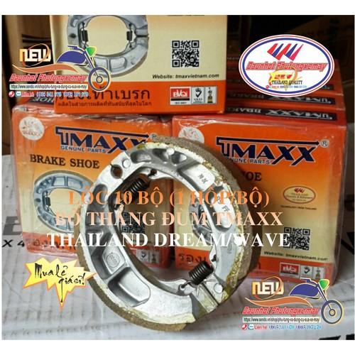 LỐC 10 BỘ BỐ THẮNG ĐÙM DREAM, WAVE TMAXX THAILAND