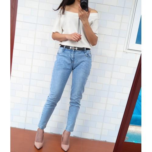 [Siêu giảm giá] quần jean nữ quần bò nữ thời trang kiểu dáng trẻ trung