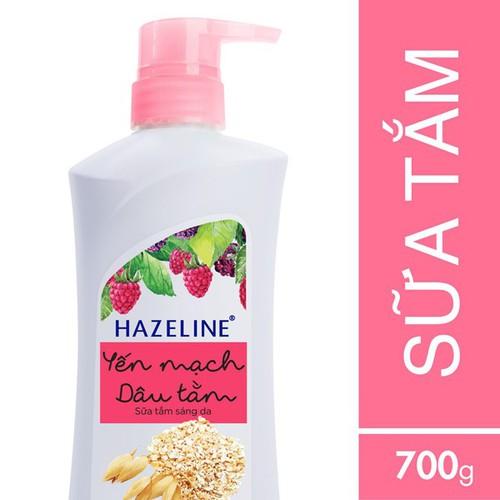 Sữa tắm sáng da Hazeline yến mạch và dâu tằm chai 700g - 12953515 , 20942117 , 15_20942117 , 92000 , Sua-tam-sang-da-Hazeline-yen-mach-va-dau-tam-chai-700g-15_20942117 , sendo.vn , Sữa tắm sáng da Hazeline yến mạch và dâu tằm chai 700g