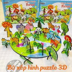 Puzzle nông trại vui vẻ