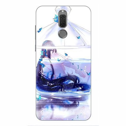 Ốp kính cường lực cho điện thoại Huawei Nova 2i - Cô Bé Trong Chiếc Lọ Thủy MS CBTCL076