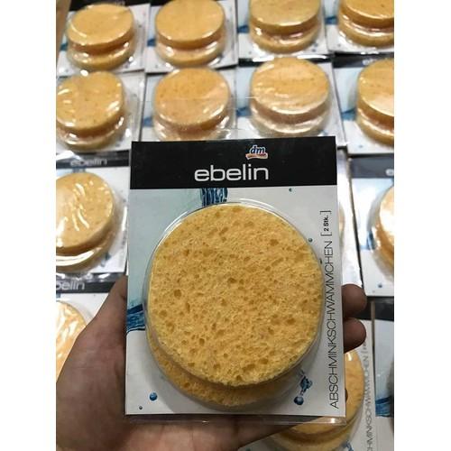 Miếng rửa mặt bọt biển ebelin set 2 cái - 12715205 , 20930274 , 15_20930274 , 80000 , Mieng-rua-mat-bot-bien-ebelin-set-2-cai-15_20930274 , sendo.vn , Miếng rửa mặt bọt biển ebelin set 2 cái