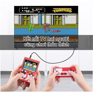 Máy Chơi Game Nes Cầm tay + Chơi được 2 người + kết nối TV - SUP400 thumbnail