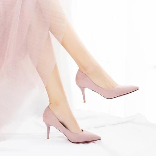 Giày cao gót bít kiểu mới kt - 12939829 , 20923055 , 15_20923055 , 245000 , Giay-cao-got-bit-kieu-moi-kt-15_20923055 , sendo.vn , Giày cao gót bít kiểu mới kt