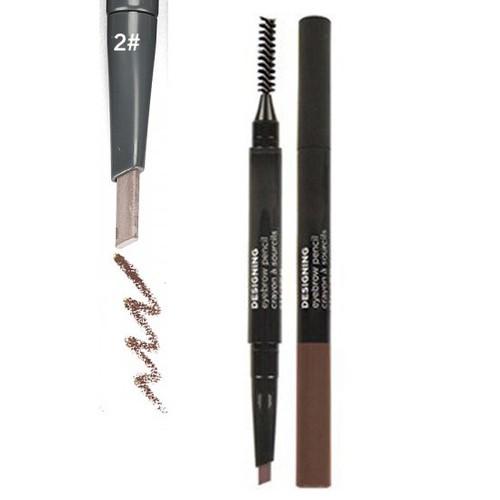 Chì Kẻ Mày 2 Đầu Designing Eye-Brow Pencil 3g - No.2