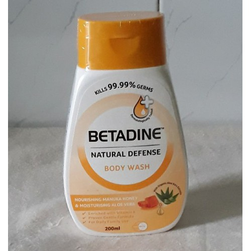 Sữa tắm betadine diệt khuẩn 200 ml - 12952725 , 20940744 , 15_20940744 , 47000 , Sua-tam-betadine-diet-khuan-200-ml-15_20940744 , sendo.vn , Sữa tắm betadine diệt khuẩn 200 ml
