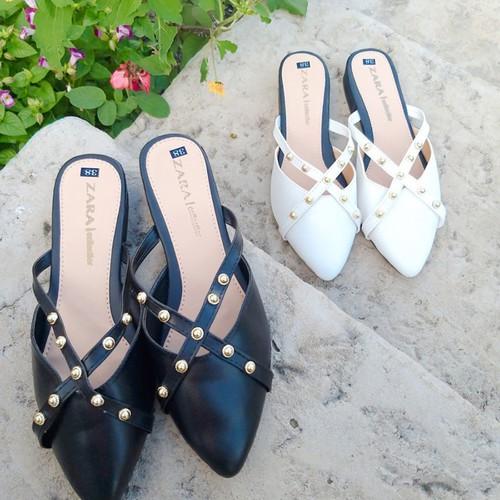 Giày sục nữ đinh chéo mã su02 - 12941593 , 20925497 , 15_20925497 , 130000 , Giay-suc-nu-dinh-cheo-ma-su02-15_20925497 , sendo.vn , Giày sục nữ đinh chéo mã su02