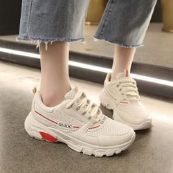 Giày sneaker nữ cổ thấp phối màu cực chất