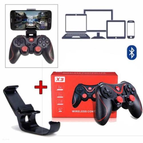 Tay Cầm Chơi Game Bluetooth Terios X3 , X7 Loại 1 Có Giá Đỡ ĐT, HÀNG CÓ SẴN, Phiên bản khác của Máy Chơi Game Cầm Tay G4 Sup Game Box 400 in 1, Tay cầm chơi game, máy chơi game, nút bấm chơi game