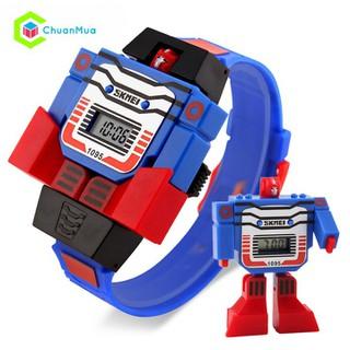 [FREESHIP] Đồng hồ bé trai Đồng hồ siêu nhân - DHA691 Đồng hồ bé trai thumbnail