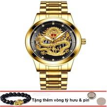 Đồng hồ đôi dây da Đồng hồ đôi dây da OLEVS 6898 thời trang chống thấm nước - Giá 1 chiếc 1