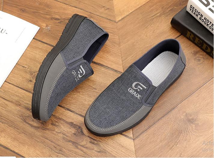 Giày lười nam phối màu có clip chi tiết