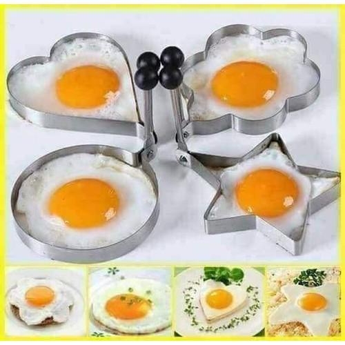 Khuôn tráng trứng 1 set 4 khuôn