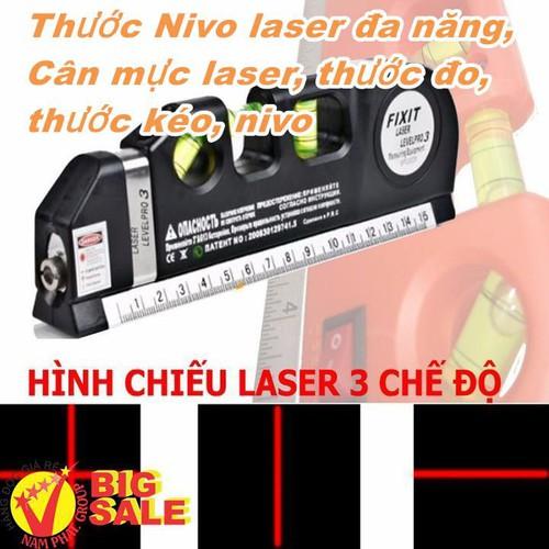 Thước Nivo laser đa năng Cân mực laser thước đo thước kéo nivo SALE RẺ 39