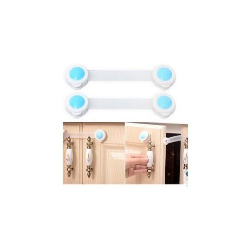 Sét 2 khóa tủ lạnh khóa tủ an toàn cho bé