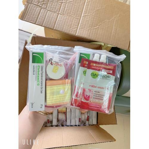 Set kem trị nám Clobetamil G đỏ cao cấp Thái Lan chính hãng bộ 5 món - 12956975 , 20946509 , 15_20946509 , 100000 , Set-kem-tri-nam-Clobetamil-G-do-cao-cap-Thai-Lan-chinh-hang-bo-5-mon-15_20946509 , sendo.vn , Set kem trị nám Clobetamil G đỏ cao cấp Thái Lan chính hãng bộ 5 món