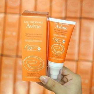 Kem chống nắng Avene Pháp SPF50 ngăn ngừa chứng nám da - Kem chống nắng 50+ 1