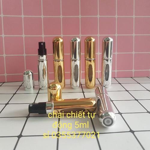 Chai chiết nước hoa tự động 5ml