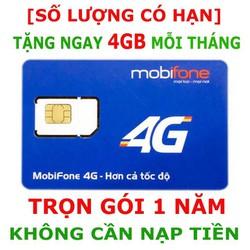 Sim 4G Mobifone sim chuyên vào mạng, đáp ứng nhu cầu sử dụng mạng thường xuyên