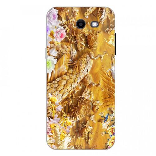 Ốp điện thoại kính cường lực cho máy Samsung Galaxy J3 Prime - chim công phượng MS CPHUONG030